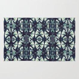 Intersecting Geometric Pattern Design Rug
