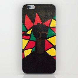 Black! iPhone Skin
