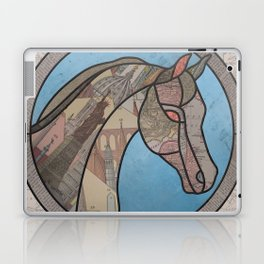 Stained Glass Map Horse Laptop & iPad Skin