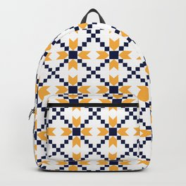 Portuguese style pattern Backpack