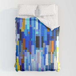 illustrations abstract colorfu Comforters