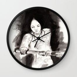 Derrotar al enemigo (Sketch version) Wall Clock