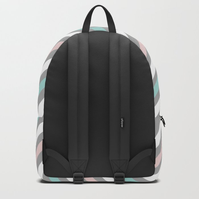 INFINITE LINES (abstract pattern) Backpack
