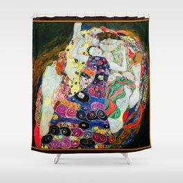 Art Nouveau Ladies - Gustav Klimt Shower Curtain