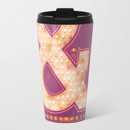 Neon Ampersand Travel Mug