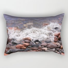 Lake Superior North Shore Rectangular Pillow