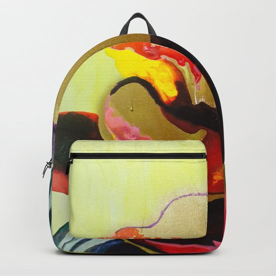 Burn The Flowers For Fuel Backpack