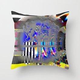 Quantum Deportation Throw Pillow