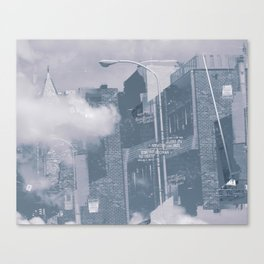 through the haze Canvas Print
