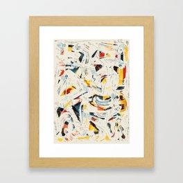 Pattern № 65 Framed Art Print