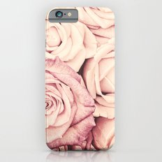 Some people grumble I Floral rose roses flowers pink Slim Case iPhone 6