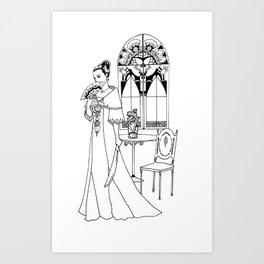 Maria Clara Art Print