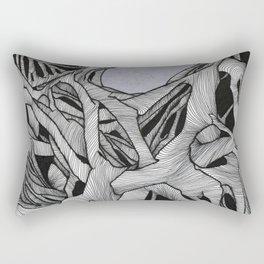 Per Aspera Rectangular Pillow