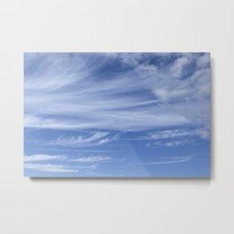 Little wispy clouds Metal Print