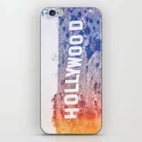 hollywood iPhone & iPod Skins featuring Hollywood by Laura Ruth