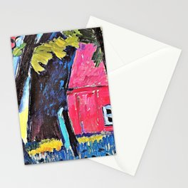 Church in Prerow - Digital Remastered Edition Stationery Cards