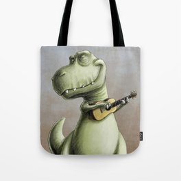 Rockin' Out With A Ukelele Tote Bag