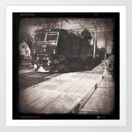 Train Art Print