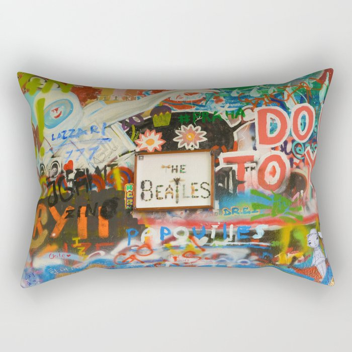 A moment with a Beatle Rectangular Pillow