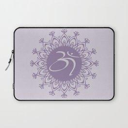 Purple Aum Laptop Sleeve