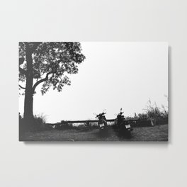 The Ride > The View Metal Print