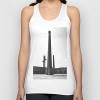 industrial Tank Tops featuring Industrial by Renata's Photobox
