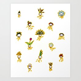Dead Vegetation  Art Print