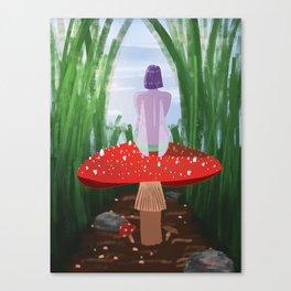 Mushroom Fairy Canvas Print