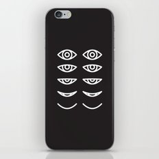 Eyes in Motion iPhone & iPod Skin