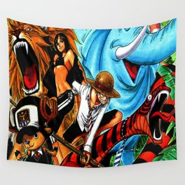 one piece zou Wall Tapestry
