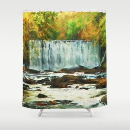 Autumns Chill Shower Curtain