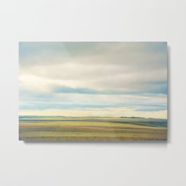 Farmland Prairies Metal Print