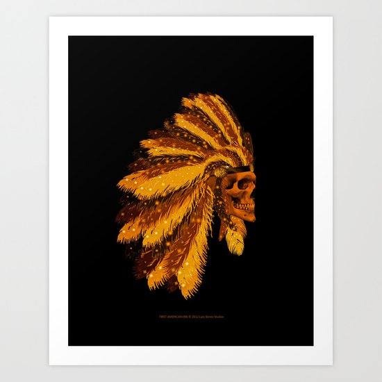 FIRST AMERICAN-006 Art Print