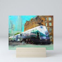 Train #1 Mini Art Print