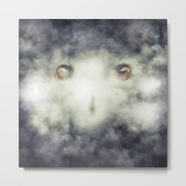 Eagle Fog Metal Print