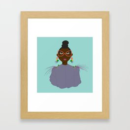 It's Nina Darling Framed Art Print