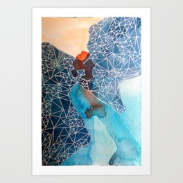 Pacific Ocean No.3 Art Print