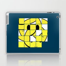 Acid Smiley Shuffle Puzzle Laptop & iPad Skin