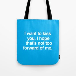 Kiss You Tote Bag