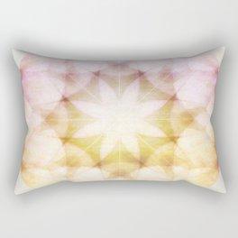 Colorful Petals Rectangular Pillow