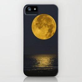 A Summer Full Moon iPhone Case