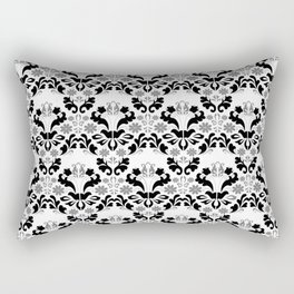 Abstract seamless black and grey ornament Rectangular Pillow