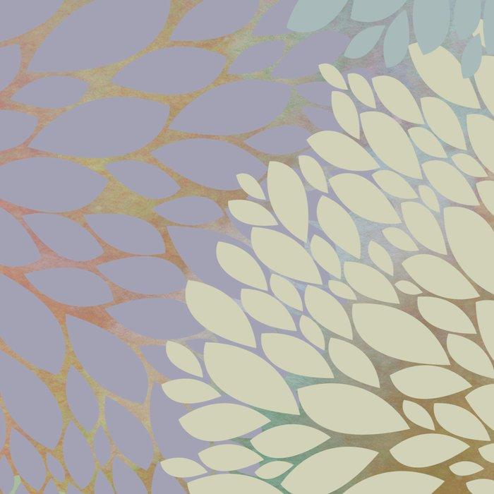 Abstract Floral Petals Leggings