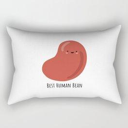 Best Human Bean Rectangular Pillow