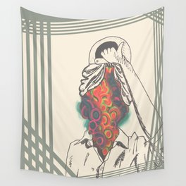 Just an Illusion Wall Tapestry