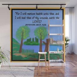 Jeremiah 30:17, KJV Wall Mural