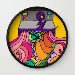 Capture The Rainbow Wall Clock