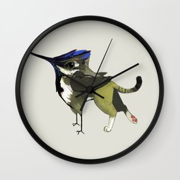 Tiny Griffin (1 of 3) Wall Clock
