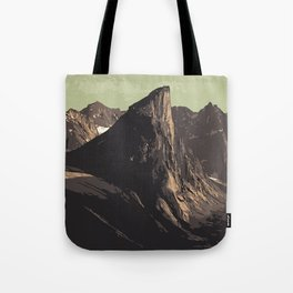 Auyuittuq National Park Tote Bag