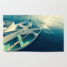 On the Water - Boats Rug